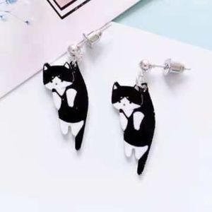 🐱 Just In 🐱 Black Kitty Dangle Earrings